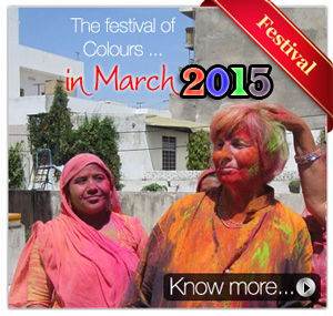 Holi Festival with Rajasthan Tour