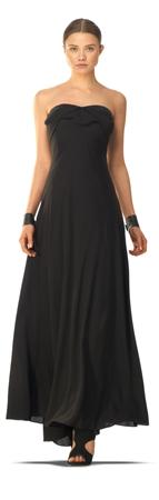Black Maxi Dress From Maxstudio'