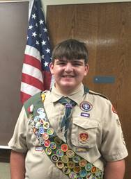 Palmer Trinity Student Recieves Highest Award in Boy Scouts