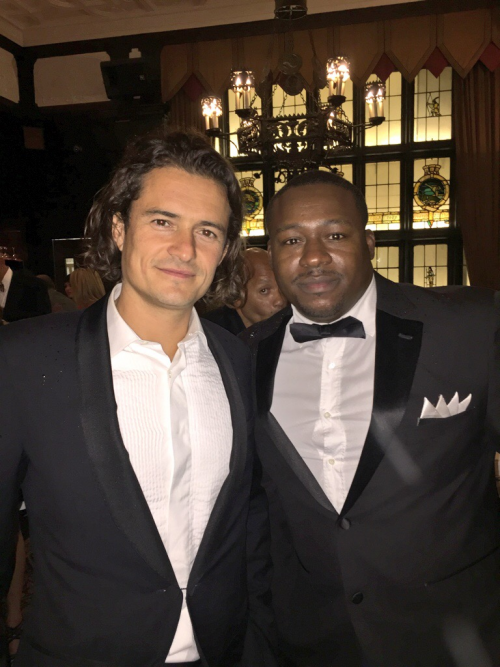 Founder Billionaires Row Champagne and Actor Orlando Bloom'