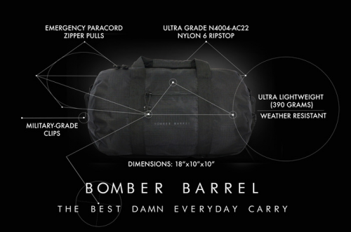 Bomber Barrel Designer Vincent Pilot Ng'