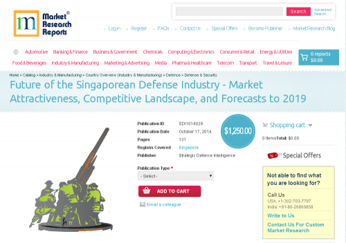 Future of the Singaporean Defense Industry 2019'