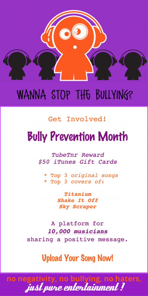 Bully Prevention Competiton For Young Musicians'