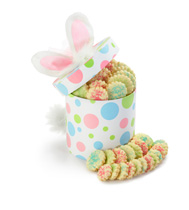 Easter Gifts and Cookies'