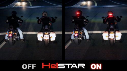 HelSTAR - wireless helmet brake and signal light'