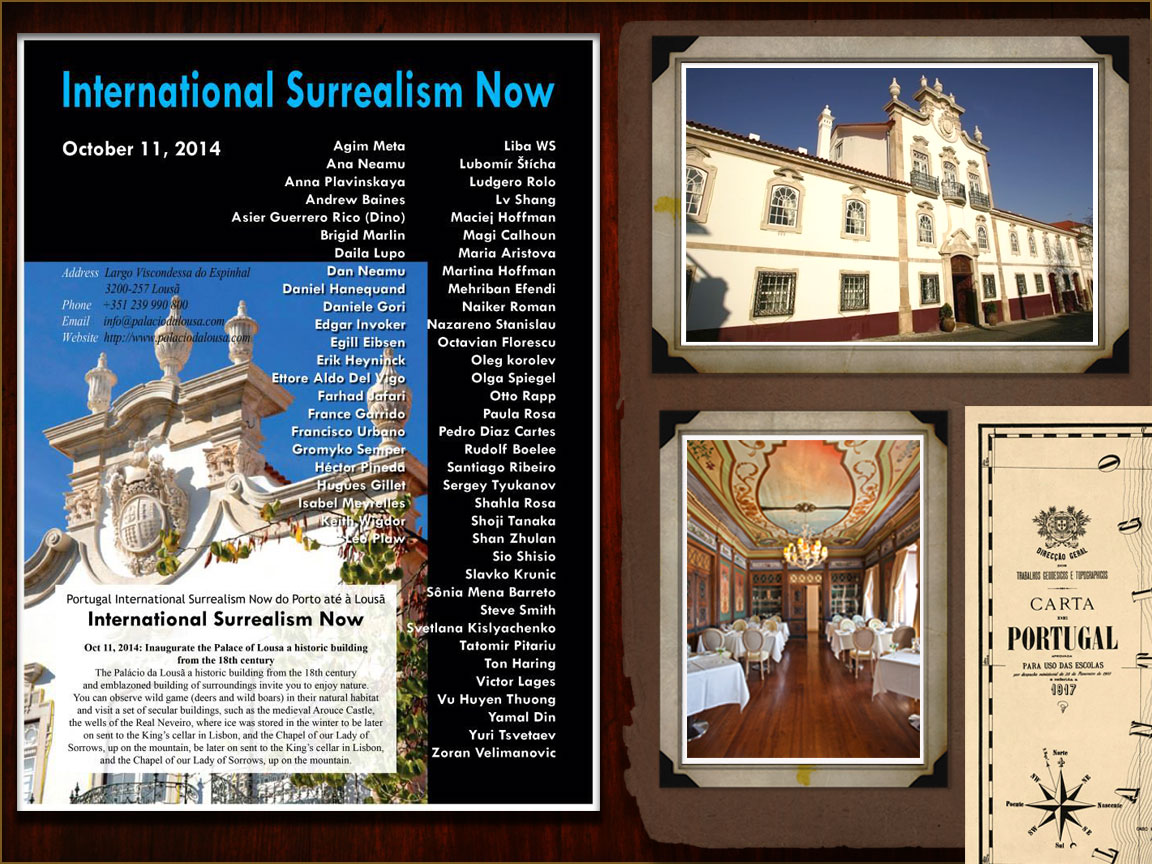 International Surrealism Now - Palácio da Lous&am