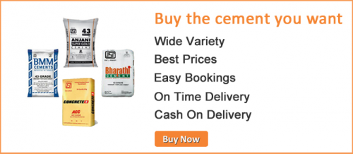 Cement Brands in Bangalore'