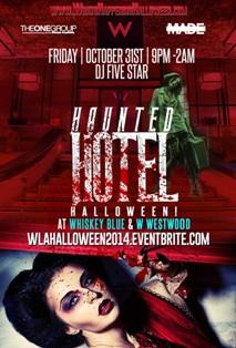 Haunted Hotel Halloween'