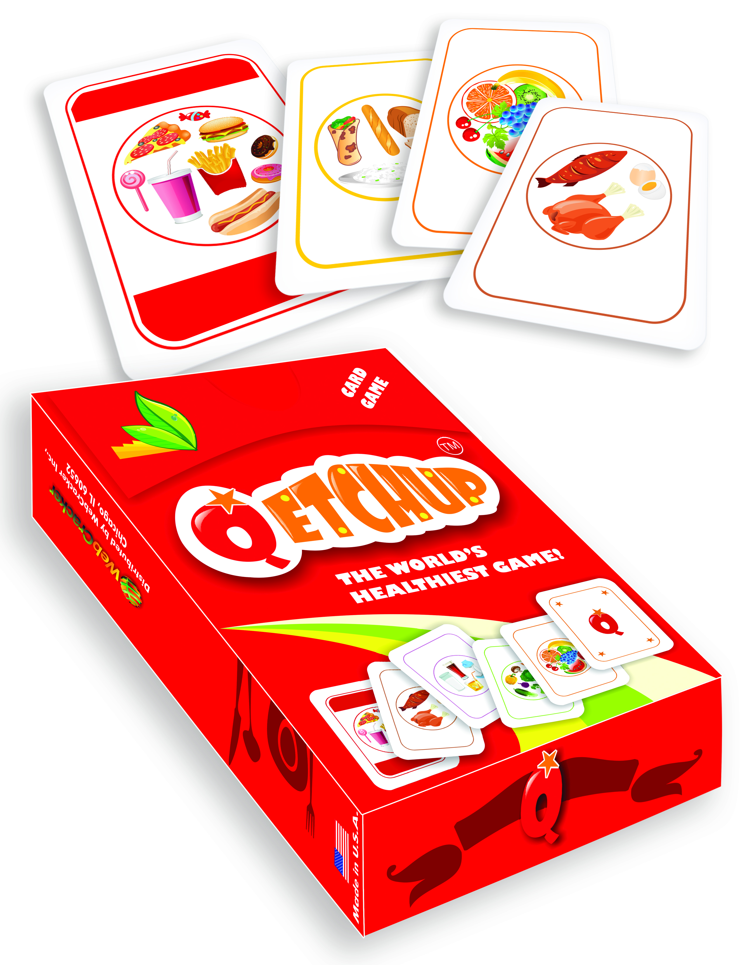 Qetchup Card Game