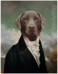 DOG ART COLLECTIVE TAKES COMMISSIONS FOR PAINTINGS OF DOGS I