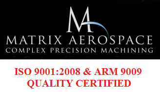 Matrix Aerospace Achieves ISO 9001:2008 and ARM 9009 Quality