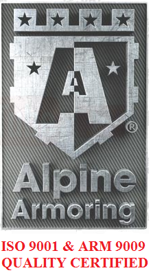 Alpine Armoring Achieves ARM 9009:2013 Quality Certification'
