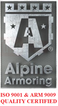 Alpine Armoring Achieves ARM 9009:2013 Quality Certification