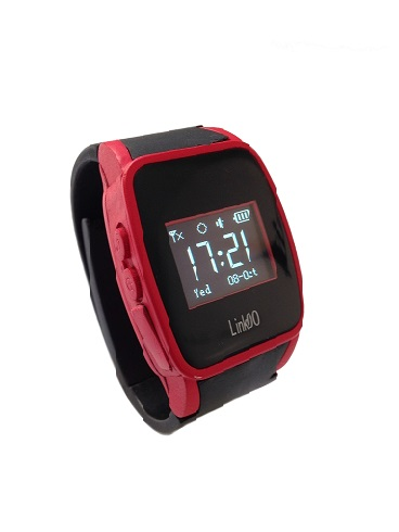 Red Linkoo GPS Watch Phone