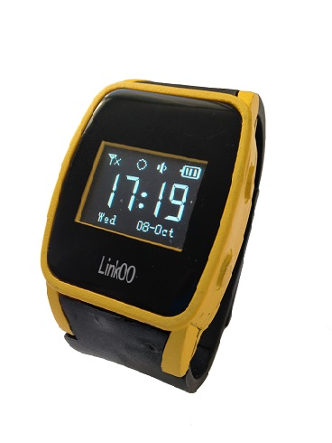 Yellow Linkoo GPS Watch Phone