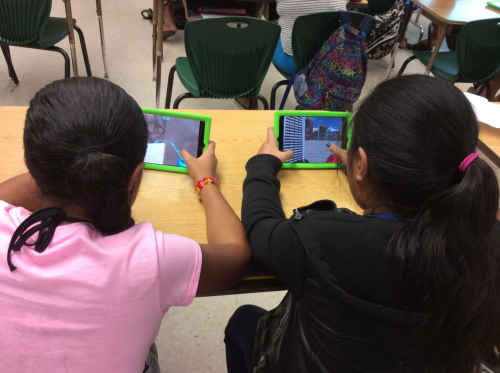 Elementary Students in Hawaii on TowerStorm App for iOS'
