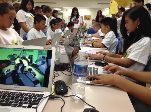 DimensionU 2014 Hawaii Math Games'