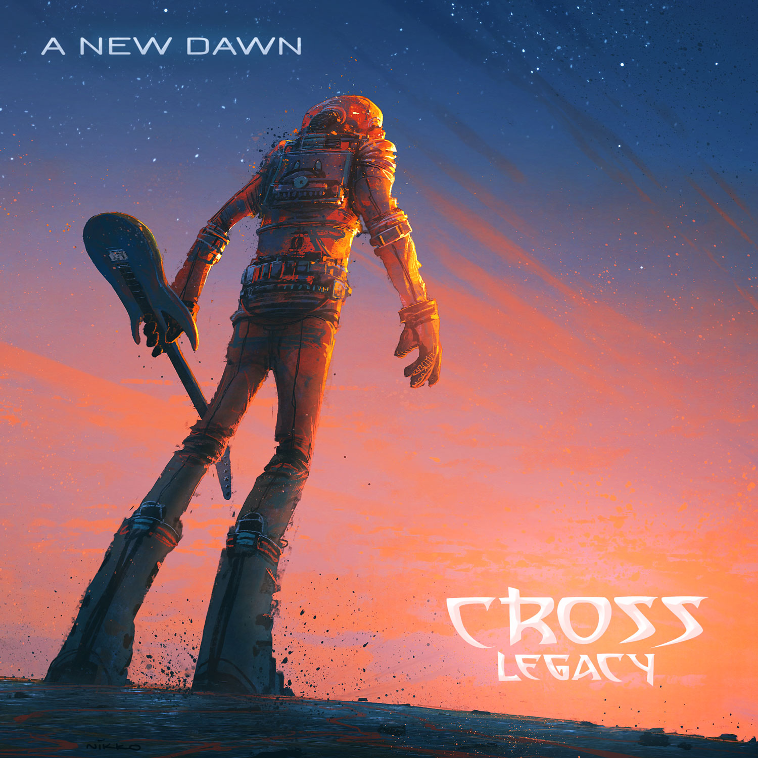 Album Cover Art of 'A New Dawn'