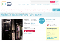 Middle East Data Centre Pricing - 2015 to 2020