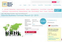 Estonia Business Forecast Report Q1 2015