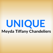 UniqueMeydaTiffanyChandeliers.com Logo