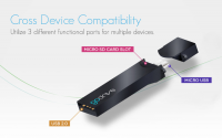 GoDrive: A Mobile On-The-Go USB Drive Micro SD Card Reader