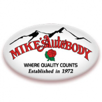 Mike Rose's Auto Body Logo
