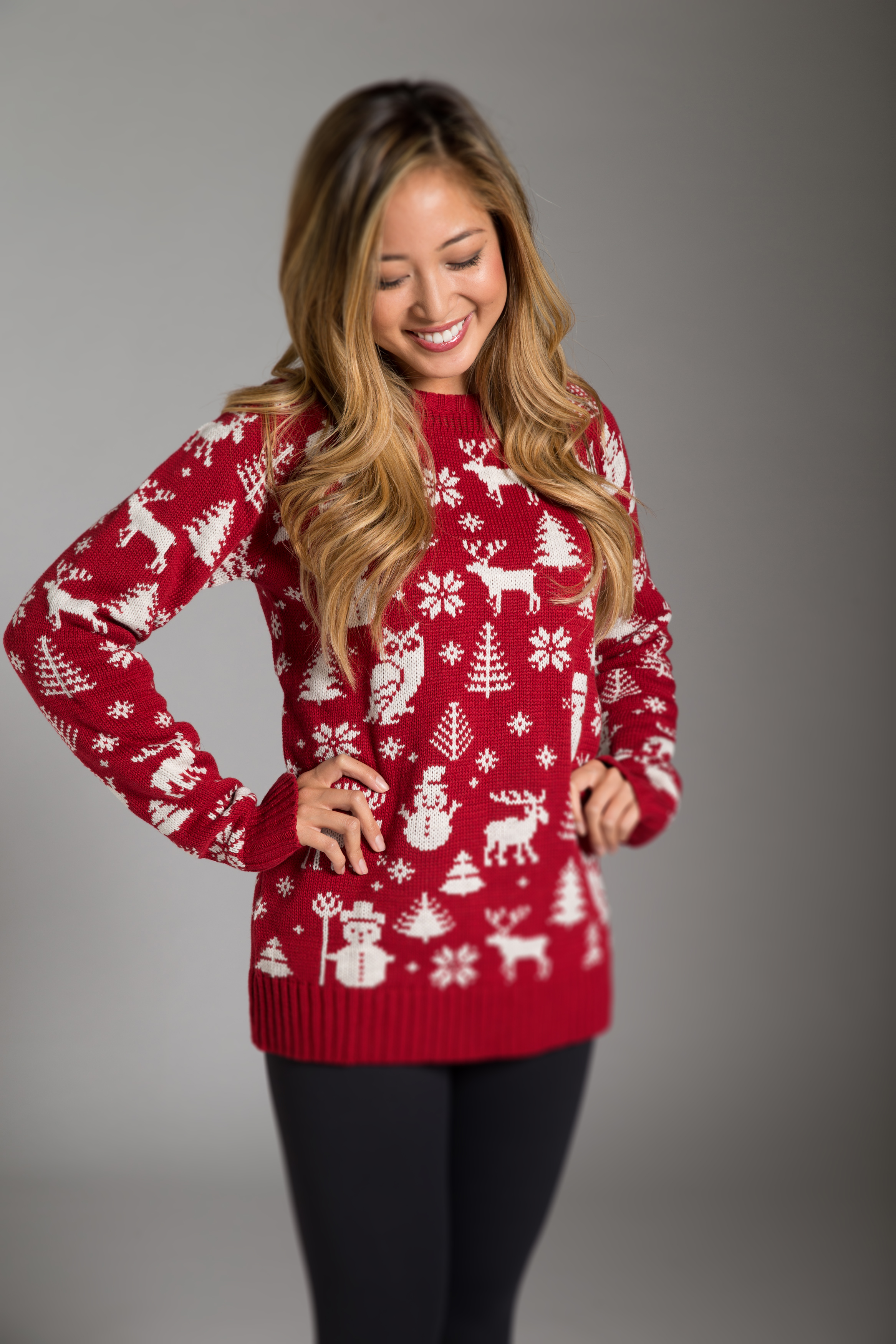 RED HOT XMAS UNISEX SWEATERS