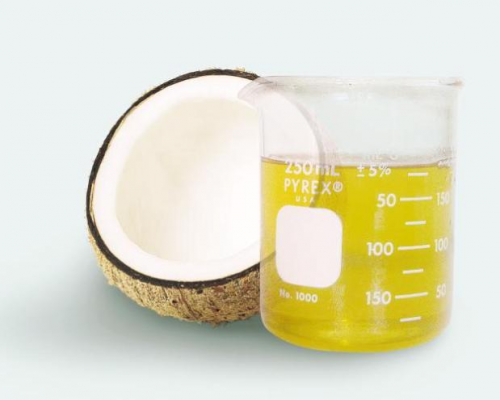 Virgin coconut oil doesn't is not heat processed'