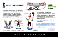 Bodyboard X - Fun Full Body Workout Device