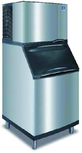 Manitowoc Ice Machine on Ice Storage Bin'