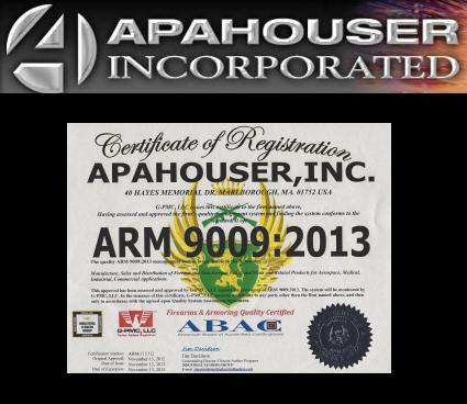 Appahouser - ARM 9009 Certified'