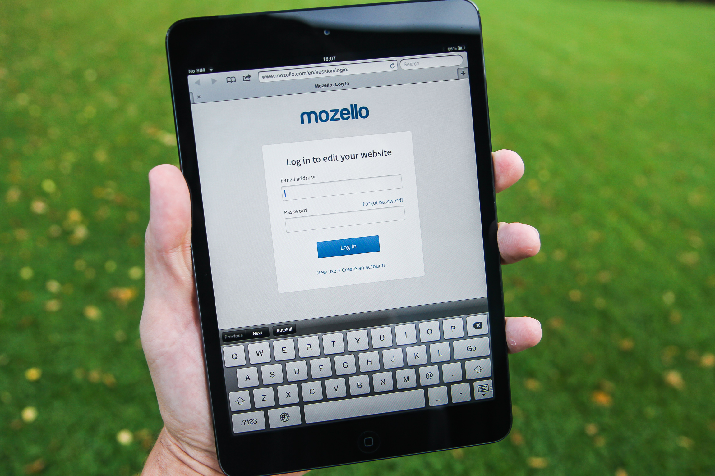 Mozello on iPad