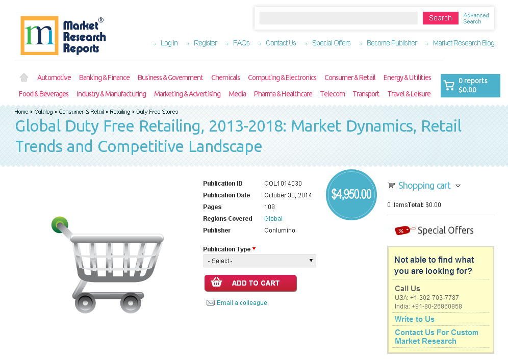 retail market research reports For the past few years, the indian retail sector has been witnessing tremendous growth, and contributing significantly to the country's gdp though the country' retail sector is highly unorganized, organized retailing is growing at a rapid pace to grab a considerable market share according to our new research report, with the.