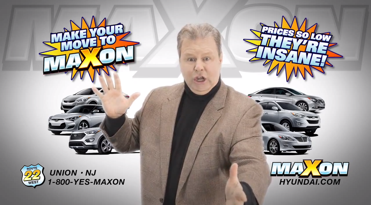 Maxon Crazy Eddie Car Commercials with Barry Ratcliffe