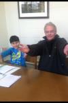 Richard Barton, Owner / Operator, Tutoring a Student'