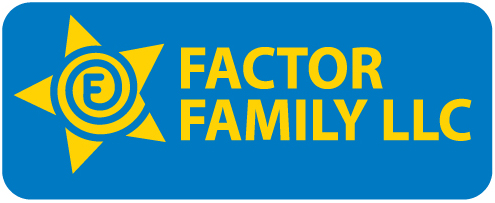 Logo for Factor Family, LLC'