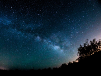 The Milky Way over Oracle State Park by Mike Weasner.