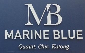marine blue'