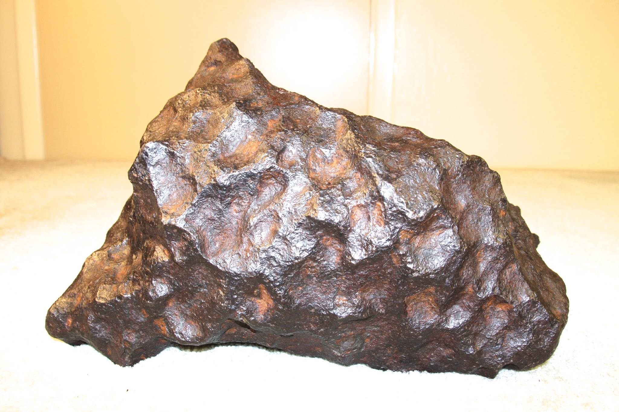 Priceless Meteorite Shipped by Craters & Freight