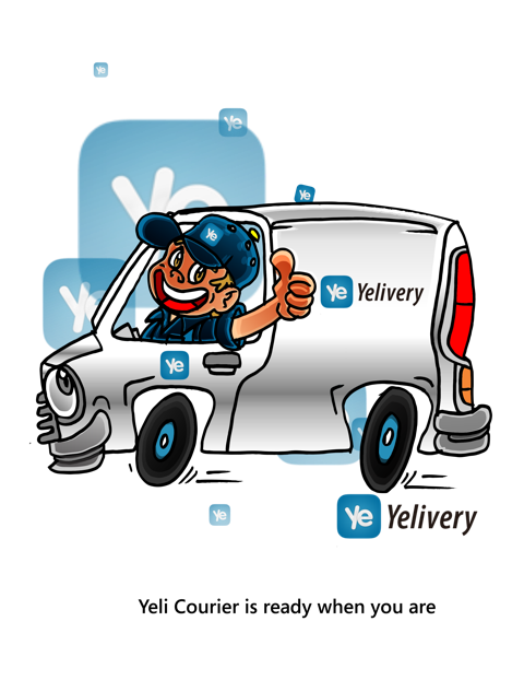 Yelivery - Graphic 1'