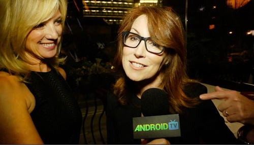 Android TV Margaret Nagle at BEHIND THE SCREEN: Winter 2014'