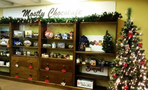 Mostly Chocolate Show Room'