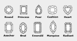 Diamond Shapes'