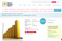 HNWI Asset Allocation in Malaysia 2014