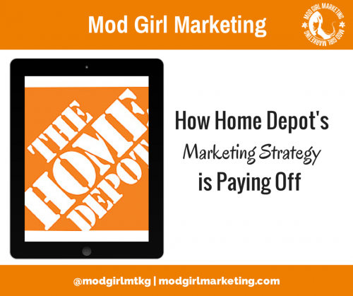 How Home Depot's Marketing Strategy is Paying Off'