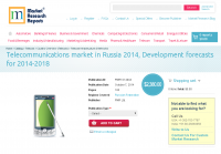 Telecommunications market in Russia 2014