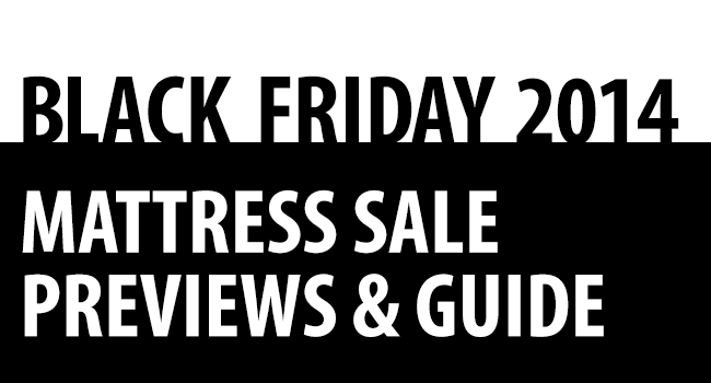 2014 Black Friday Mattress Sale Preview Released