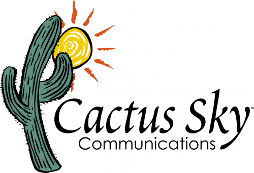 Logo for cactus sky communications'