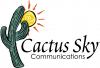 Logo for cactus sky communications'